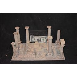MINIATURE ANCIENT GREEK & ROMAN RUINS BUILT BY GRANT MCCUNE 1