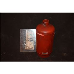 ZZ-CLEARANCE SPHERE MINIATURE GAS TANK RED