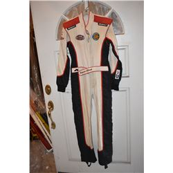 NASCAR JESSICA CLARK RACING SUIT WITH SPONSOR PATCHES
