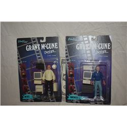 GRANT MCCUNE 1 OF A KIND TOYS SEALED ON CARDS LOT OF 2