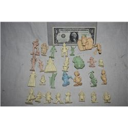 DISNEY CHARACTERS PROTOTYPE FIGURINES MADE BY GRANT MCCUNE HUGE HORDE!
