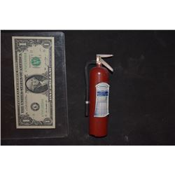 ZZ-CLEARANCE DANTES PEAK MINIATURE METAL FIRE EXTINGUISHER 1