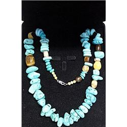 NEVADA BLUE TURQUOISE NECKLACE