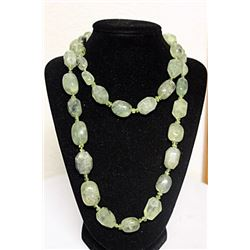 LADIES FANCY JADE NECKLACE