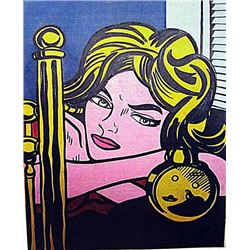 Roy Lichtenstein - I Know 1968 Oil