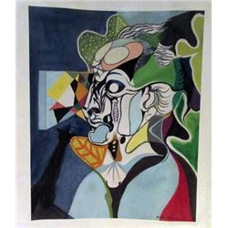 Andre Masson - Mr Eugene Watercolor