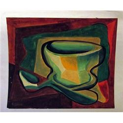 Georges Braque - Untitled Watercolor