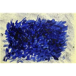 Yves Klein - Untitled
