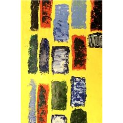 Composition In Yellow - Nicolas De Stael