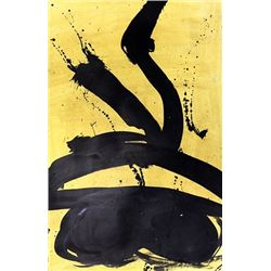 Venus - Robert Motherwell - Oil On Paper