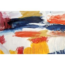 The City - Joan Mitchell - Oil On Paper