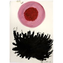 Afrodite - Adolph Gottlieb - Oil On Paper