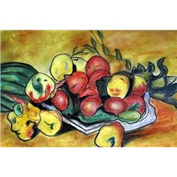Still Life - Louis Valtat - Pastel On Paper