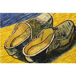 Two Old Shoes - Vincent Van Gogh