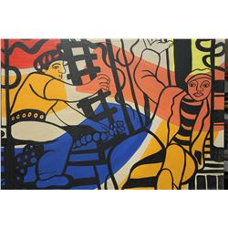 Two Workers - Fernand Leger