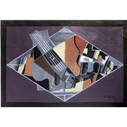 Signed Braque