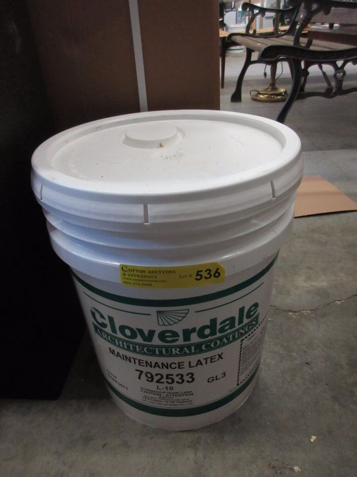 5 gallon bucket of cloverdale latex paint for 5 gallon bucket of paint price
