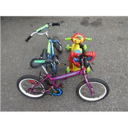 2 Bikes & A Scooter