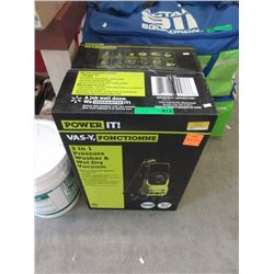 New Power IT 2000psi 2 in 1 Pressure Washer & More