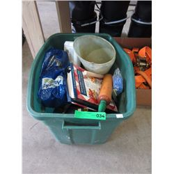 Box of Assorted Tools & More