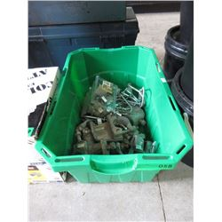 Box of Pipe Hanger Clamps