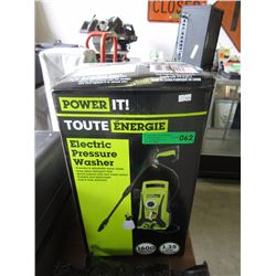 New Power IT 1600psi Electric Pressure Washer