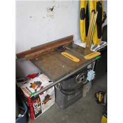 Heavy Duty Rockwell Commercial Table Saw
