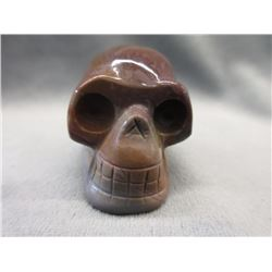 406.6 CT Genuine Succor Creek Jasper Skull