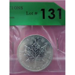 .9999 Fine Silver 2011 Mint Canada Maple Leaf Coin