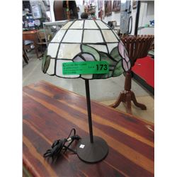 "18"" Stained Glass Lamp"
