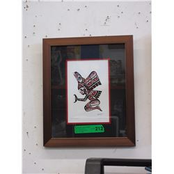 "Richard Shorty Framed Print - ""Transformation"""
