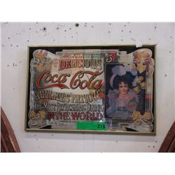 Coca-Cola Wall Mirror