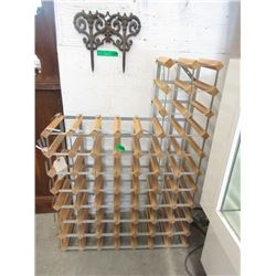 "57"" Bottle Wine Rack"