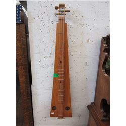 3 String Dulcimer - Stringed Musical Instrument