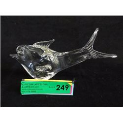 Hand Blown Art Glass Fish