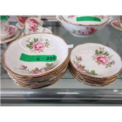 "14 Royal Albert ""American Beauty"" Bowls"