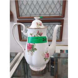 "Royal Albert ""American Beauty"" Coffee Pot"