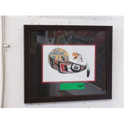 "Richard Shorty Framed Print ""Eagle Moon"""