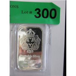1 Oz. Scottsdale Mint .999 Silver Art Bar