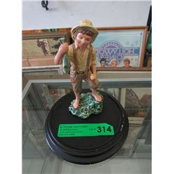 "7"" Royal Doulton Huckleberry Finn Figurine - 1981"