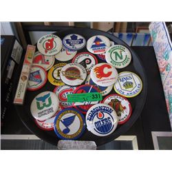 "21 Collectible 3.5"" NHL Buttons"