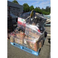 Wrapped Skid of Tools & Household Goods