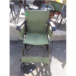 New Small Folding Wheelchair