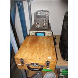 Vintage Tube Tester, Oscilloscope & More