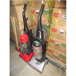2 Upright Vacuums