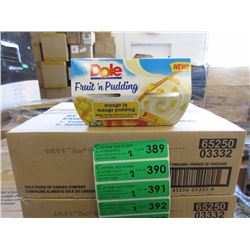 2 Cases of Mango in Mango Pudding Snacks
