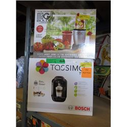 Tassimo & Magic Bullet