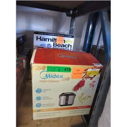 Rice Cooker & Hamilton Beach Coffee Maker