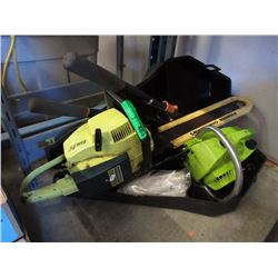2 Gas Powered Chain Saws & Pruners