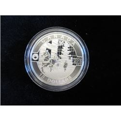 2013 Canadian Fine Silver $10 Coin